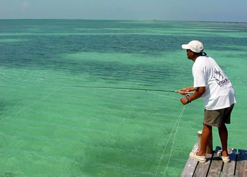 fishing at Blue Marlin Lodge, Belize