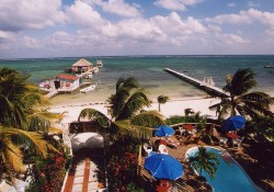 The Blue Tang Inn, formerly known as Rocks Inn,  is the perfect tropical vacation hideaway for scuba divers in San Pedro, Ambergris Caye, Belize.