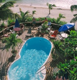 The Blue Tang Inn, formerly known as Rock Inn,  is the perfect tropical vacation hideaway for scuba divers in San Pedro, Ambergris Caye, Belize.