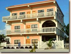 Private three bedroom beach front apartment in San Pedro on Belize's Ambergris 