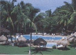 Contadora Island Beach Resort in the Pearl Islands off the Pacific coast of  Panama attracts people 