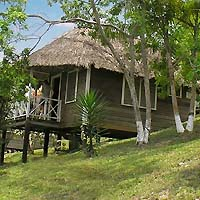 rainforest hotel in the rainforest area of Western Belize, with its thatched-roof cabanas and air conditioned rooms and suites, offers easy access to the Mayan cities in Belize and the tropical jungle in Belize.