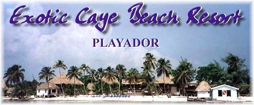 Exotic Caye Beach Resort is the perfect tropical vacation hideaway for scuba divers in San Pedro, Ambergris Caye, Belize.
