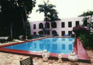fabulous colonial hotel situated close to the archaeological site of uxmal