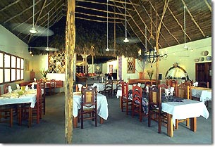 the restaurant at mata chica beach resort, san pedro, ambergris caye, belize