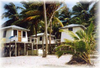 Ocean's Edge Lodge is located on Tobacco Caye, an idyllic private island on the Southern 