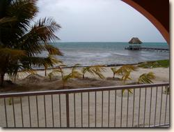 A private beachfront condo for vacation rental in San Pedro on the tropical island of Ambergris Caye, Belize