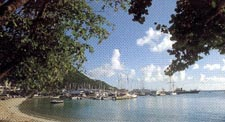beach view, pasanggram royal guest house, saint maarten, sint martin, dutch caribbean isands, dutch antilles