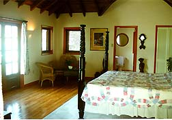 bedroom, pasanggram royal guest house, saint maarten, sint martin, dutch caribbean isands, dutch antilles