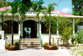 front view, pasanggram royal guest house, saint maarten, sint martin, dutch caribbean isands, dutch antilles