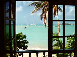 sea view, pasanggram royal guest house, saint maarten, sint martin, dutch caribbean isands, dutch antilles