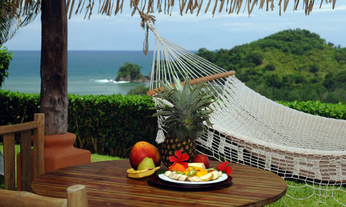 hammock at Hotel Punta Islita, Guanacaste, Costa Rica - luxury hotel and Great Hotels of the World member, contact us for reservations and more luxury hotels in Costa Rica