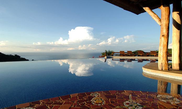 infinity pool at Hotel Punta Islita, Guanacaste, Costa Rica - luxury hotel and Great Hotels of the World member, contact us for reservations and more luxury hotels in Costa Rica