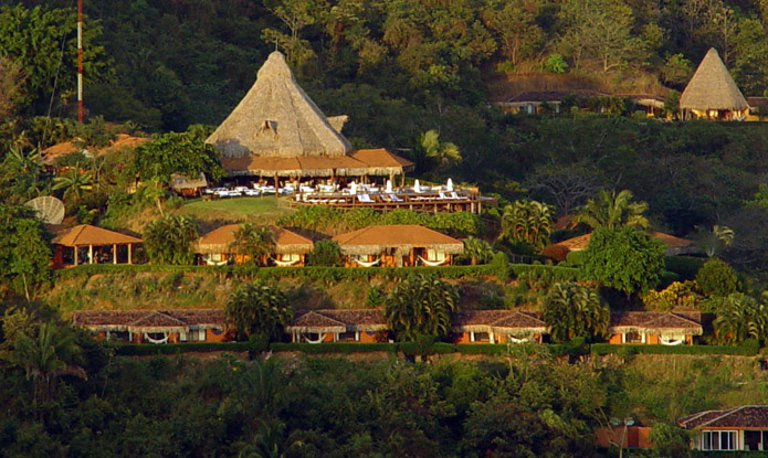 layout of Hotel Punta Islita, Guanacaste, Costa Rica - luxury hotel and Great Hotels of the World member, contact us for reservations and more luxury hotels in Costa Rica