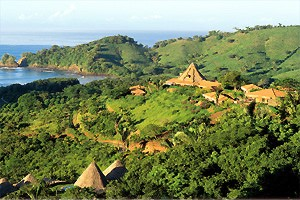 aerial view of Hotel Punta Islita, Guanacaste, Costa Rica - luxury hotel and Great Hotels of the World member, contact us for reservations and more luxury hotels in Costa Rica