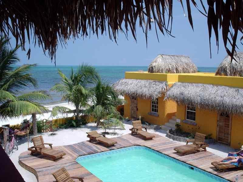 Caye Caulker Belize Caribbean Beachfront Cabanas