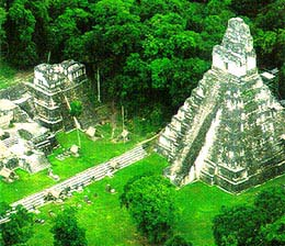 "This fascinating tour combines a fabulous Rainforest Spa Resort with the magnificent Mayan Temples of Tikal and Relaxing on the Reef on ""Temptation Island"""